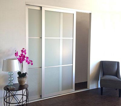 Sliding closet doors room dividers pocket doors barn for Interior sliding glass doors room dividers