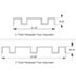 Recessed Floor Alignment Guide Size Dimensions