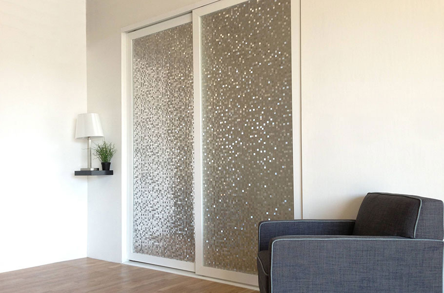 Charmant Layered Glass Room Dividers