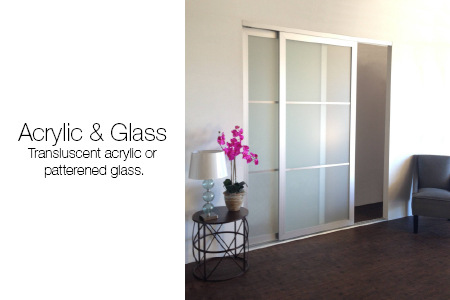 Glass and Acrylic Room Dividers