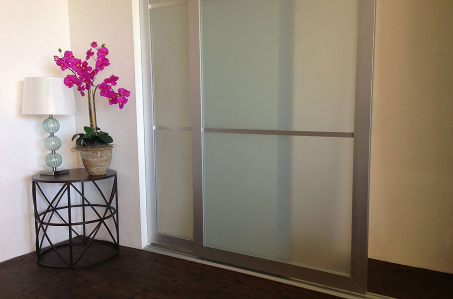 Frosted Glass Sliding Closet Doors & Sliding Closet Doors - Acrylic \u0026 Glass